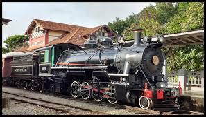 Passeio De Trem Em São Lourenço MG
